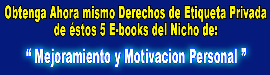 5 E-Books M